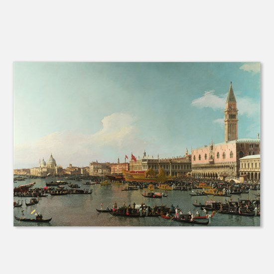 Basin of San Marco on Ascension Day (by Canaletto)