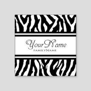Custom Animal Print Sticker