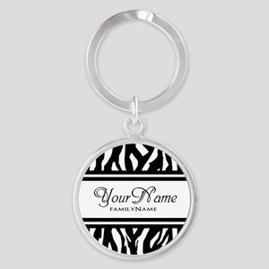 Custom Animal Print Keychains
