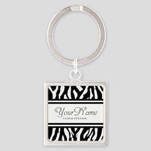 Custom Animal Print Keychains