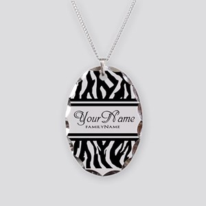 Custom Animal Print Necklace