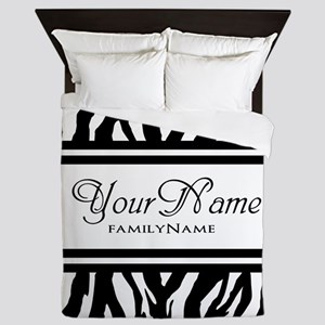 Custom Animal Print Queen Duvet