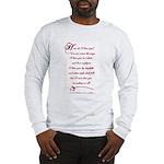 How Do I Love You? Long Sleeve T-Shirt