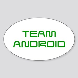 TEAM-ANDROID-SAVED-GREEN Sticker