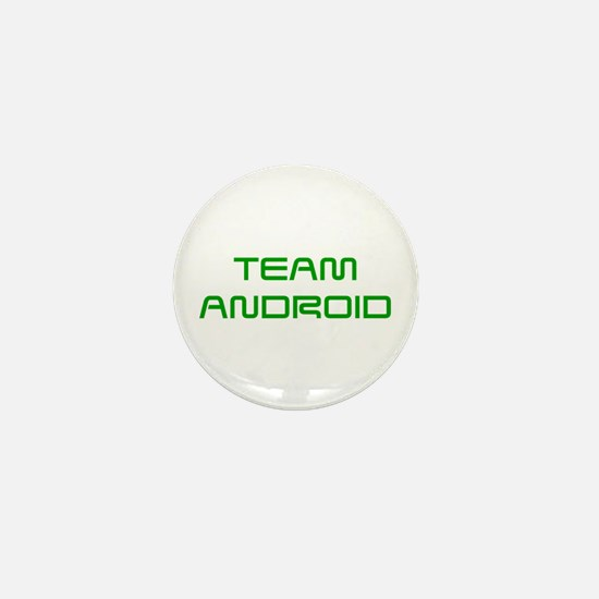 TEAM-ANDROID-SAVED-GREEN Mini Button