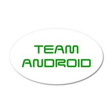 TEAM-ANDROID-SAVED-GREEN Wall Decal