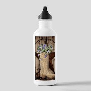 cute western cowgirl Water Bottle