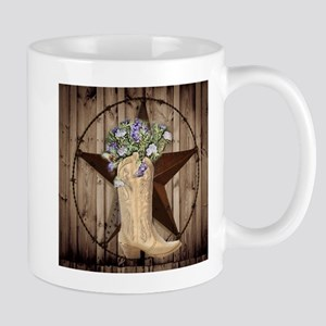 cute western cowgirl Mugs
