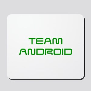 TEAM-ANDROID-SAVED-GREEN Mousepad
