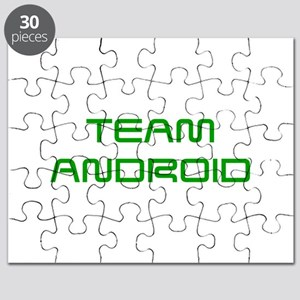TEAM-ANDROID-SAVED-GREEN Puzzle
