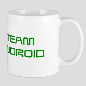 TEAM-ANDROID-SAVED-GREEN Mugs