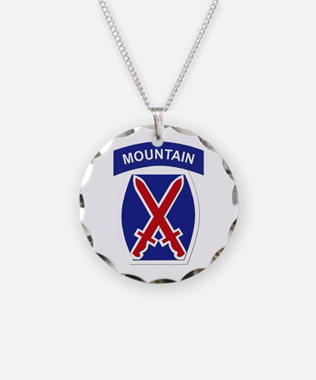 SSI - 10th Mountain Division Necklace