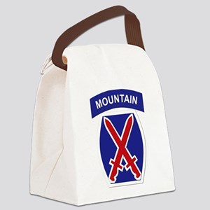 SSI - 10th Mountain Division Canvas Lunch Bag