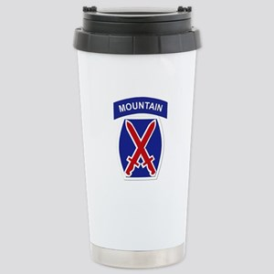 SSI - 10th Mountain Division Stainless Steel Trave