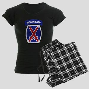 SSI - 10th Mountain Division Women's Dark Pajamas