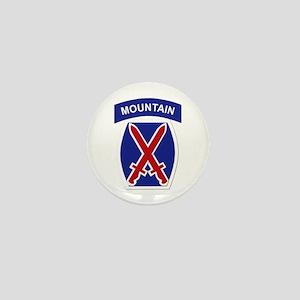 SSI - 10th Mountain Division Mini Button