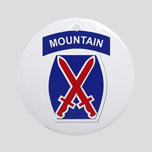 SSI - 10th Mountain Division Ornament (Round)