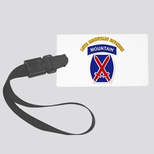 SSI - 10th Mountain Division with Text Large Lugga