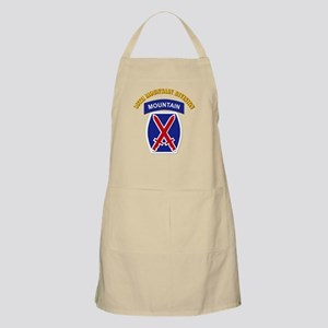 SSI - 10th Mountain Division with Text Apron