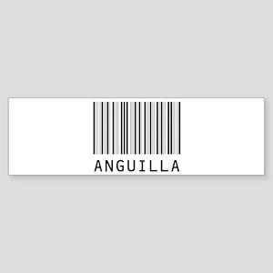 ANGUILLA Barcode Bumper Sticker