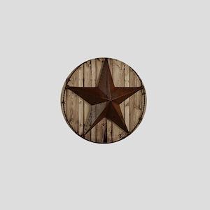 western texas star Mini Button