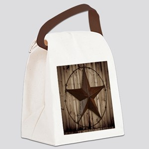 western texas star Canvas Lunch Bag