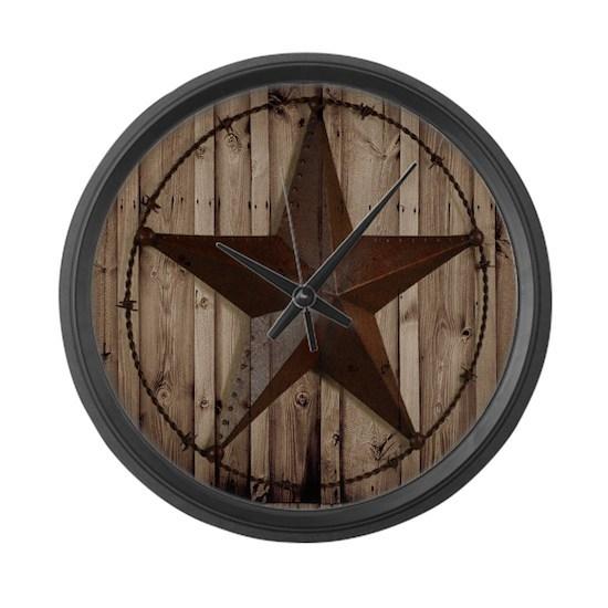 western texas star wood grain barn wood