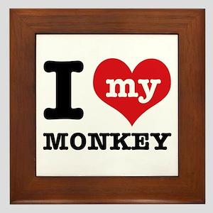 I love my MONKEY Framed Tile