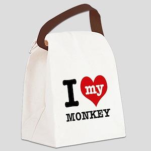 I love my MONKEY Canvas Lunch Bag