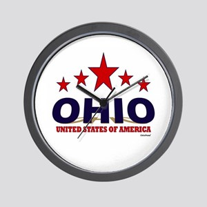 Ohio U.S.A. Wall Clock