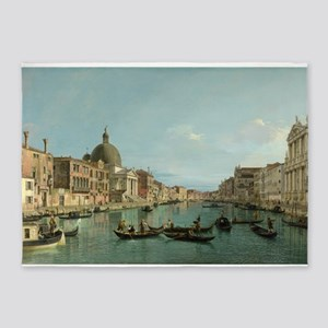 Upper Reaches of the Grand Canal (by Canaletto) 5'