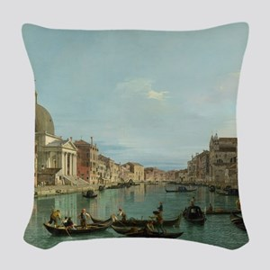 Upper Reaches of the Grand Canal (by Canaletto) Wo