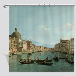 Upper Reaches of the Grand Canal (by Canaletto) Sh