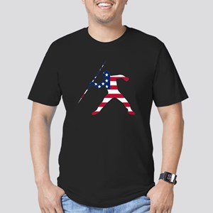 American Flag Javelin Throw T-Shirt