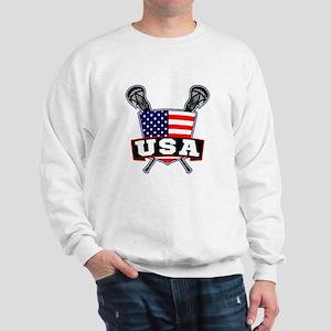 Team USA Lacrosse Logo Sweatshirt