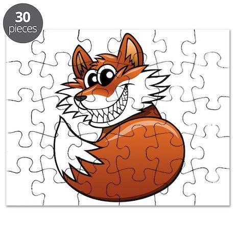 Cartoon Fox Puzzle
