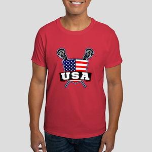 Team USA Lacrosse Logo T-Shirt