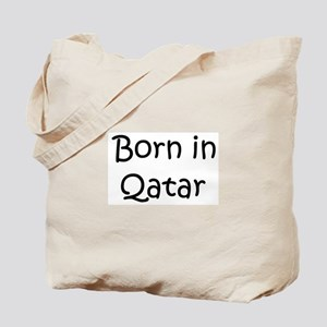 Born in Qatar Tote Bag