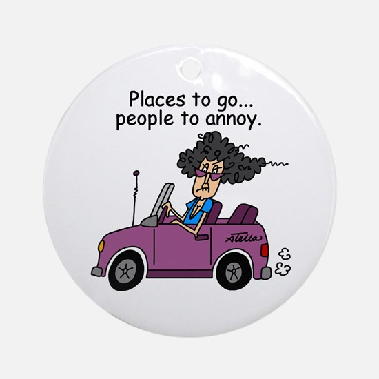 Annoying People Ornament (Round)