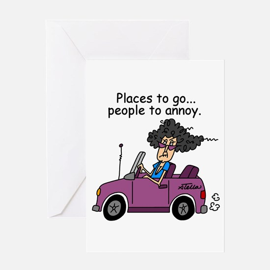 Annoying People Greeting Card