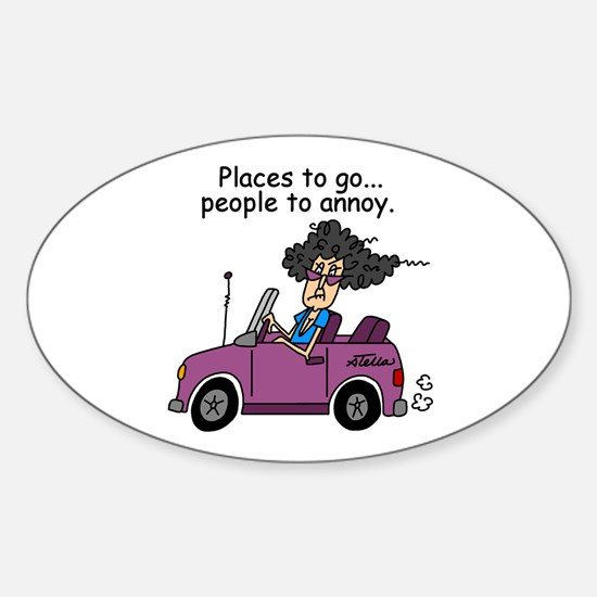 Annoying People Sticker (Oval)