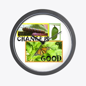 Change Is Good Wall Clock
