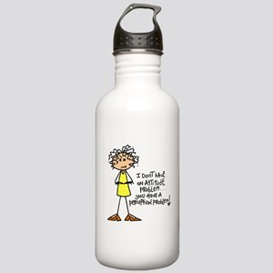 Attitude Problem Stainless Water Bottle 1.0L