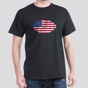American Flag Football T-Shirt