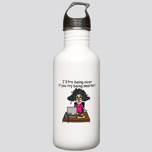 Intelligence Sarcasm Stainless Water Bottle 1.0L