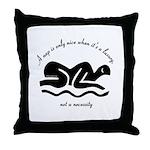 Nap Realities Throw Pillow