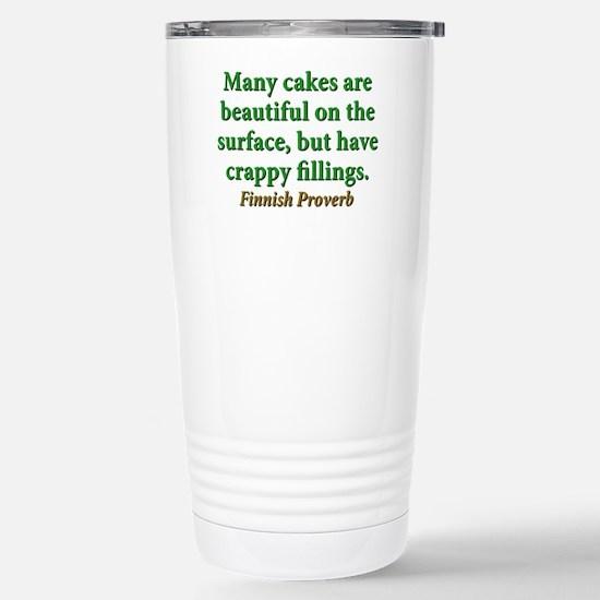 Many Cakes Are Beautiful Travel Mug
