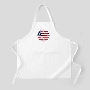 American Flag Baseball Apron