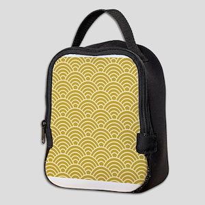 Oriental Design Neoprene Lunch Bag