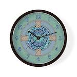 Celtic Eye of the World Wall Clock
